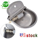 Stainless Water Trough Bowl Automatic Drinking Dog Horse Chicken cattle AutoFill