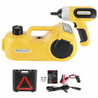 12V 5T Car Electric Hydraulic Floor Jacks  Impact Wrench 155 450mm Lifting Tool