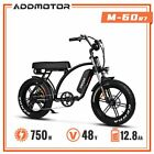 20 750W Electric Bicycle Addmotor M 60 R7 Beach Cruiser Moped LCD Display Bike