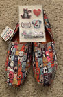 Skechers BOBs for Dogs Posh Pups Slip On Shoes Womans Sz 10 Memory Foam NEW
