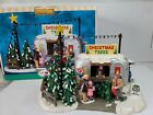 Lemax  Harvest Crossing Village Vintage Tree Lot Table Piece #73644 A-726