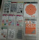10 Stamp Sets Cutting Dies Sizzix RG Verso Recollections Nesting Summer Fun NEW