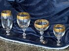Tiffin Franciscan WestchesterGold Encrusted Band Cordial Glass
