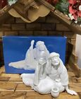 Vtg AVON Nativity Collectibles The Poor Man Porcelain Figurine 1990 Free Ship
