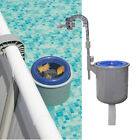 Swimming Pool Surface Skimmer Wall Mount Basket Above Ground Debris Cleaner