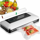 Vacuum Sealer Machine Seal a Meal Food Saver System Automatic With Seal Bags New