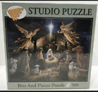 In the Manger Studio Puzzle BITS AND PIECES 500 Pc Ruane Manning Christmas NEW