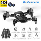 KK6 WiFi FPV with 4K HD Dual Camera Altitude Hold Mode Foldable RC Drone RTF UK