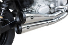 Harley Chrome Mufflers SS Exhaust Pipes Side Stack FXD 2 into 2 GN MSRP 999