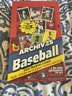 2019 Topps Archives Baseball Factory Sealed 24 Pack HOBBY Box W 2 On Card AUTOS