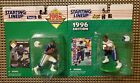 LOT OF 2 1995 & 1996 STARTING LINEUP MARSHALL FAULK~INDIANAPOLIS COLTS~NFL