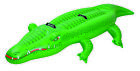 Pool Central Inflatable Green Crocodile Rider Swimming Pool Float Toy 785 Inch