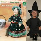 Miss Witchie Crochet Pattern Leaflet  12 1 2 Witch Fibre Craft Doll Kit RARE