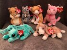 Cheddar - Pellet - Tangles - Fleur - Sniffer - Diddley TY Beanie Babies