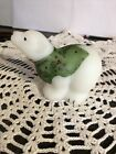 Fenton Polar Bear Frosty Friends 2002 Christmas Tie and Vest in Holly  Berries