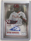 Ryan Howard Cards, Rookie Cards and Autographed Memorabilia Guide 15