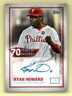 Ryan Howard Cards, Rookie Cards and Autographed Memorabilia Guide 6