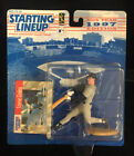 New Sealed Steve Finley 1997 Starting Lineup Figure San Diego Padres NM W/card