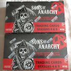 Sons of Anarchy sealed 2 box card Lot season 4 & 5 w 1 autograph & 1 costume per