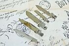 Robeson Shur Edge USA Collectors Knife Blade Parts Lot of 4