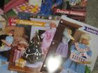 Vintage Plastic Canvas Pattern Sheets Fashion Doll or Barbie Furniture 49 Rooms