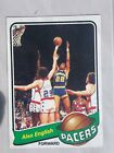 1979-80 Topps Basketball #31 Alex English Rookie Card Indiana Pacers