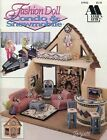 Condo  Snowmobile fits Barbie dolls Annies plastic canvas pattern book NEW
