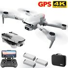Mini GPS Drone 24 5G 6K HD Dual Camera Wifi FPV Foldable RC Quadcopter Drone UK