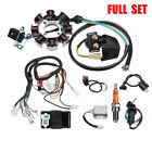 Electric Wiring Harness Wire Loom CDI Stator Full Kit For ATV QUAD 150 200 250CC