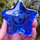 Fire And Light Recycled Glass Cobalt Blue Star Signed UNIQUE