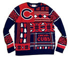 Chicago Cubs MLB Ugly Christmas Sweater - Men's L