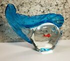 Vintage Murano Oscar Fish in a Fish Glass Sculpture Italy