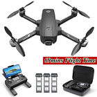 Holy Stone HS720E 4K EIS GPS Drone with UHD Camera RC Quadcopter + 3 Batteries