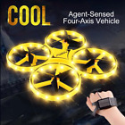 New RC Mini Quadcopter Induction Smart Watch Remote Sensing Hand Control Drone
