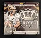 2014 Panini Crown Royale Football Hobby Box Factory Sealed in-hand Free Shipping