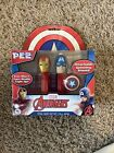 NEW PEZ CANDY MARVEL AVENGERS - America and Iron Man Twin Pack g
