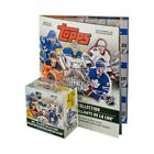 2019-20 Topps NHL Hockey Sticker Collection 50ct Box with Album