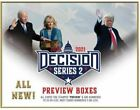 2020 LEAF DECISION Series 2 PREVIEW All Cards 10 or less Sealed Hobby Box