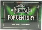 2020 LEAF METAL POP CENTURY HOBBY BOX FACTORY SEALED FROM A SEALED CASE FASC