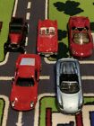 Diecast Cars 1 24 scale LOT OF 5