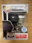 Mint! Funko POP! SNAKE EYES WITH TIMBER - G.I. JOE #78 FUNKO EXCLUSIVE