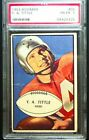 1953 Bowman #56, Y.A. Tittle, PSA 1, 49ers, Hall of Fame, Football Card