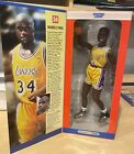 """1997, KENNER, SHAQUILLE O'NEAL, (12"""" POSEABLE) STARTING LINEUP FIGURE, RARE!"""
