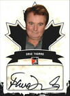 2011 In The Game Canadiana Autographs #ADT1 Dave Thomas