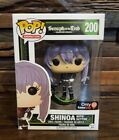 Funko Pop Seraph of the End Shinoa with Scythe Hot Topic Exclusive #200