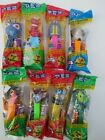 PEZ dispenser Insects Lady Bug Bee Worm beetle grasshopper Clear crystal LOT