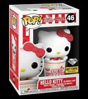 Funko Pop! HELLO KITTY DIAMOND IN NOODLE CUP Hot Topic Exclusive PREORDER!