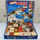 1981 Hot Wheels USA Deluxe Set 6 In 1 Complete w Box  Manual Vintage 80s EUC