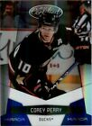 2010-11 Certified Mirror Blue #2 Corey Perry 100