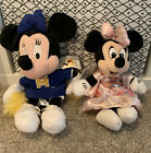 Two Minnie Mouse Beanie Toys From Disney World Florida